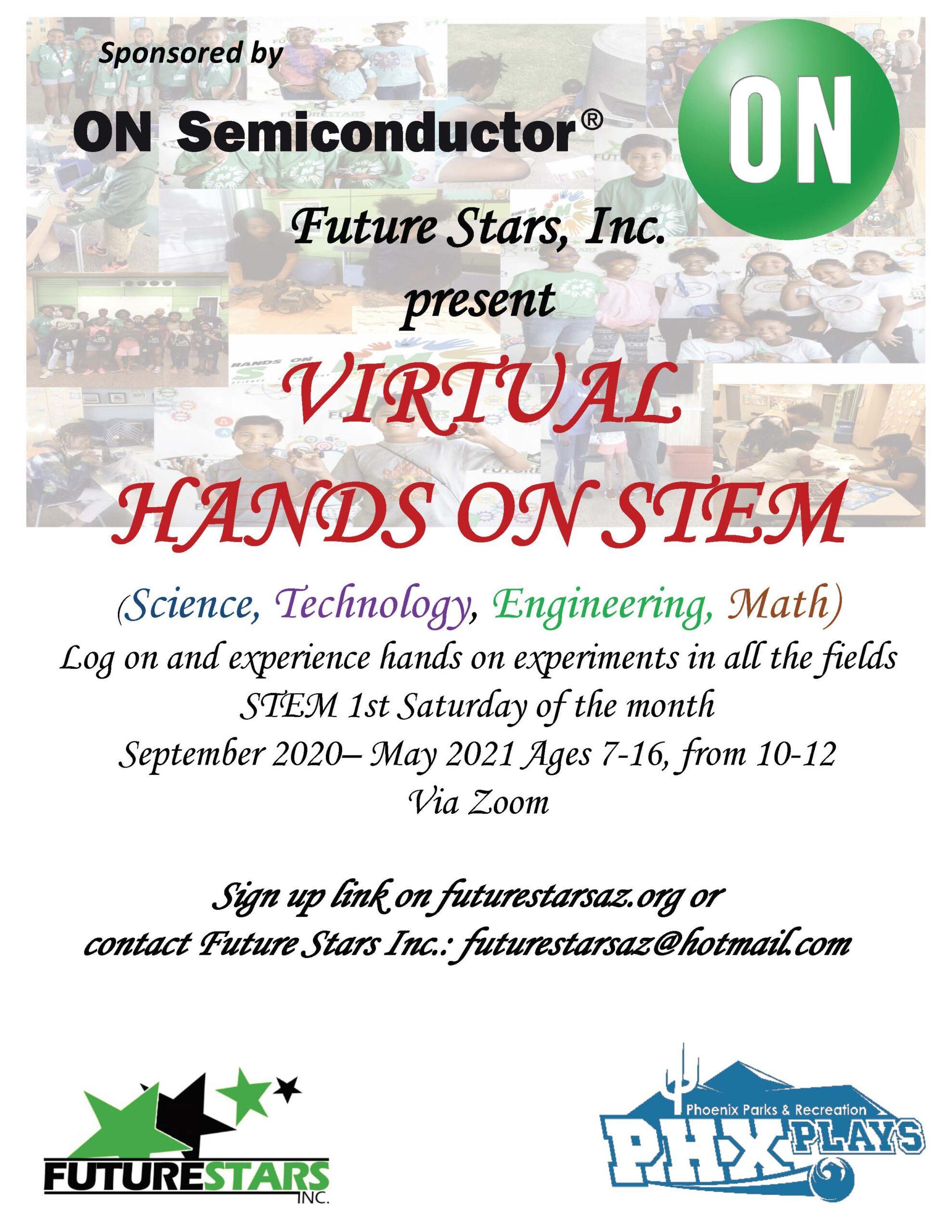 Hands on STEM Flyer 2020 Program